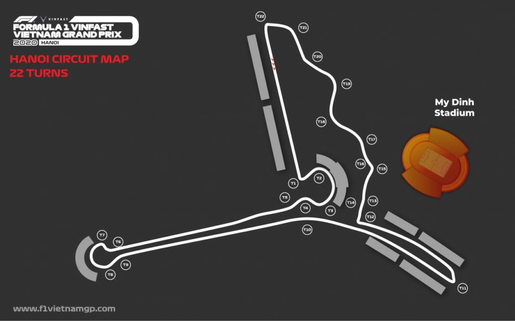 F1 | Modificato il layout del GP del Vietnam 2