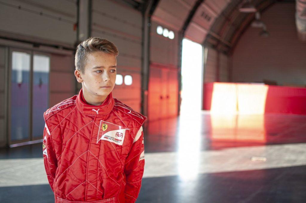 La Ferrari annuncia Arthur Leclerc nella sua Driver Academy