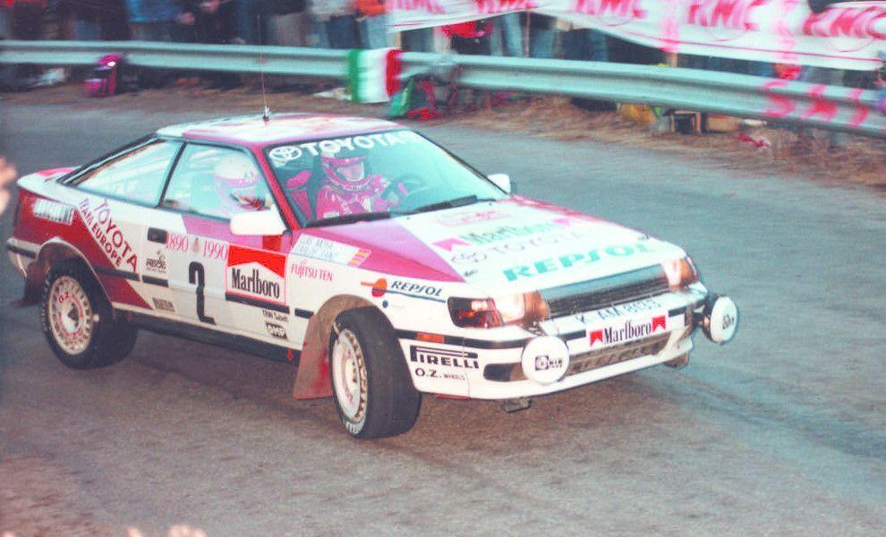 Montecarlo 1990: la cinquina Lancia firmata Didier Auriol 1