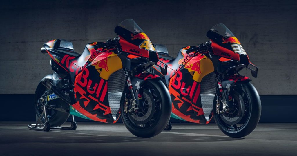 MotoGP. Svelate le KTM 2020