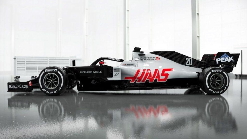 F1 | Haas mostra i render della nuova VF-20 3