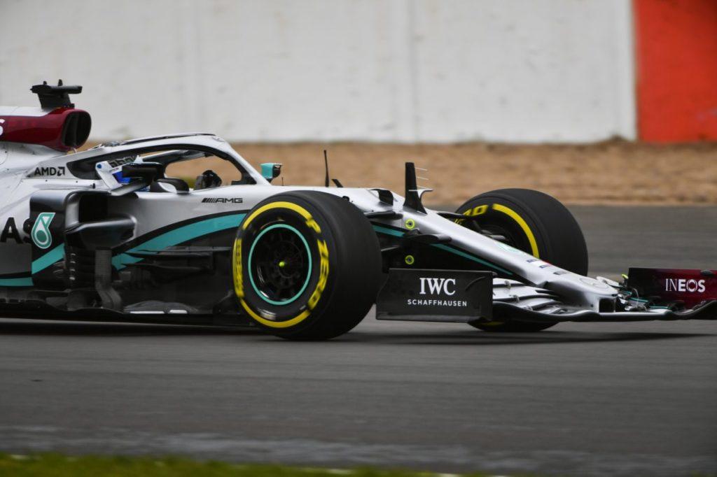 F1 | Mercedes W11 presentata - con shakedown - a Silverstone 7