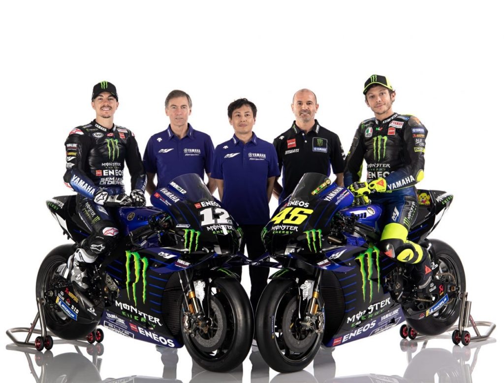 MotoGP   Presentato il team Yamaha Monster Energy 2020 8