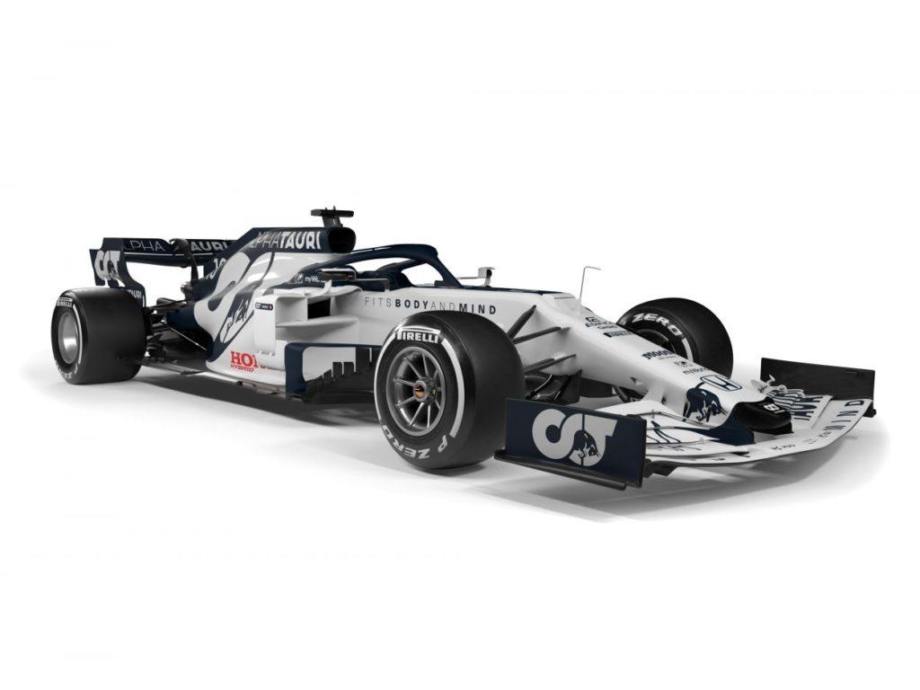 F1 | AlphaTauri presenta la AT01 3