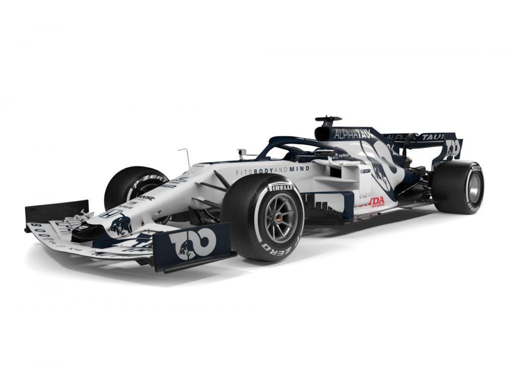 F1 | AlphaTauri presenta la AT01 4