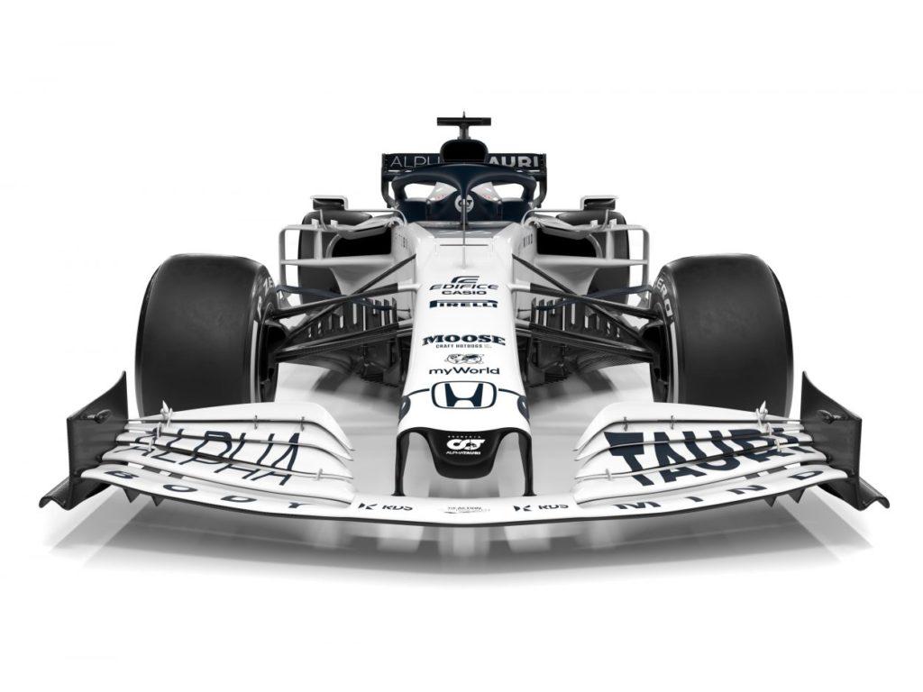 F1 | AlphaTauri presenta la AT01 5