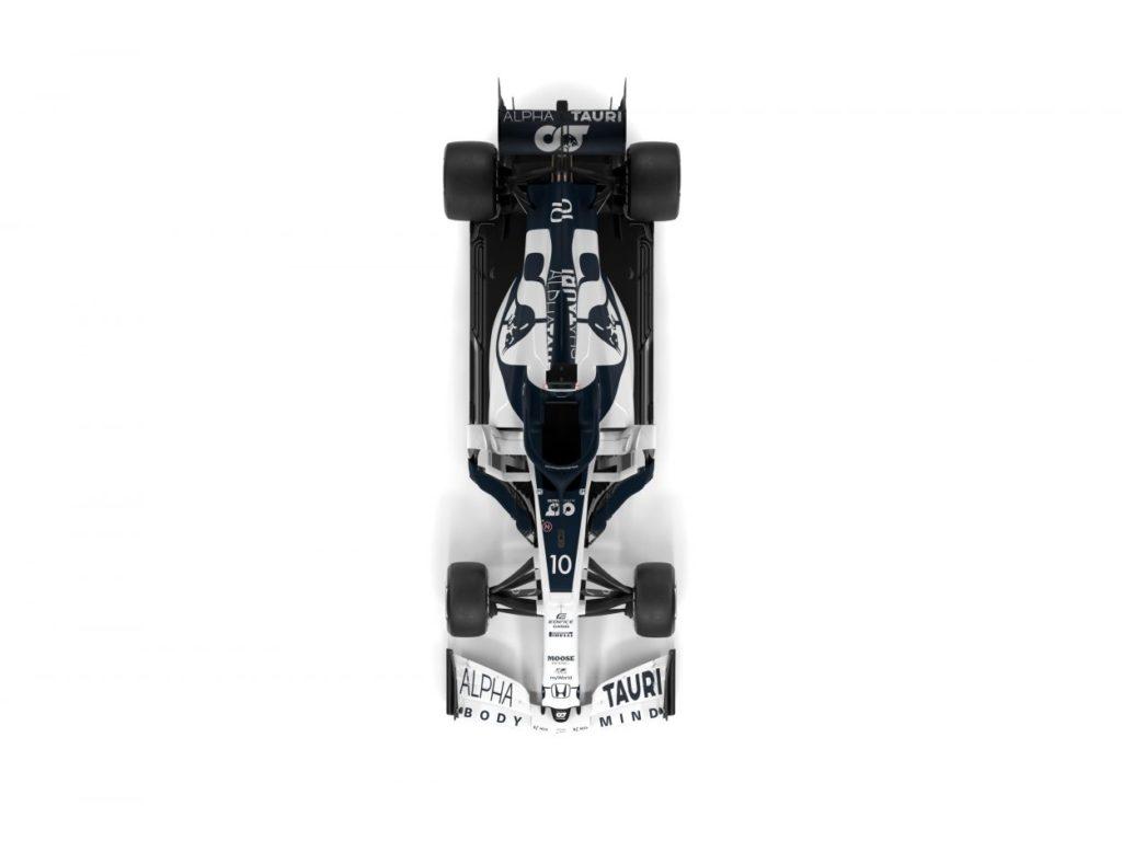 F1 | AlphaTauri presenta la AT01 6