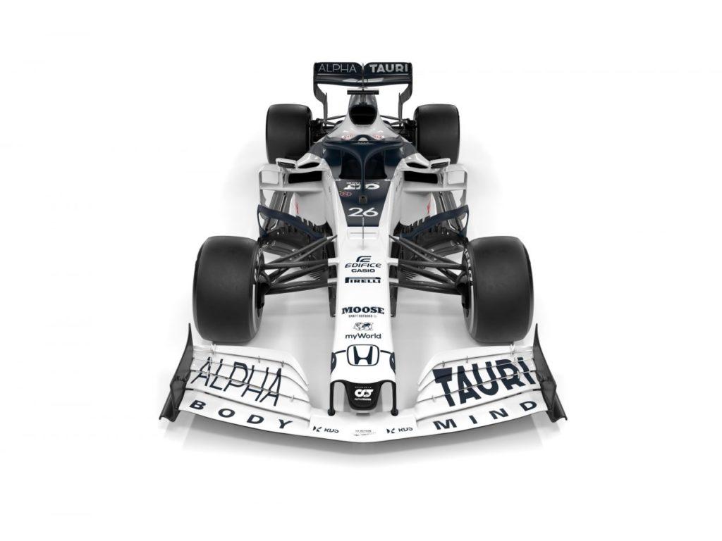 F1 | AlphaTauri presenta la AT01 8