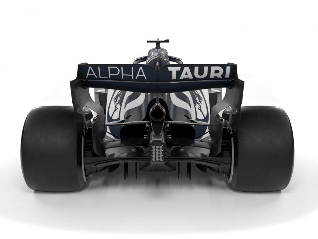 F1 | AlphaTauri presenta la AT01 7