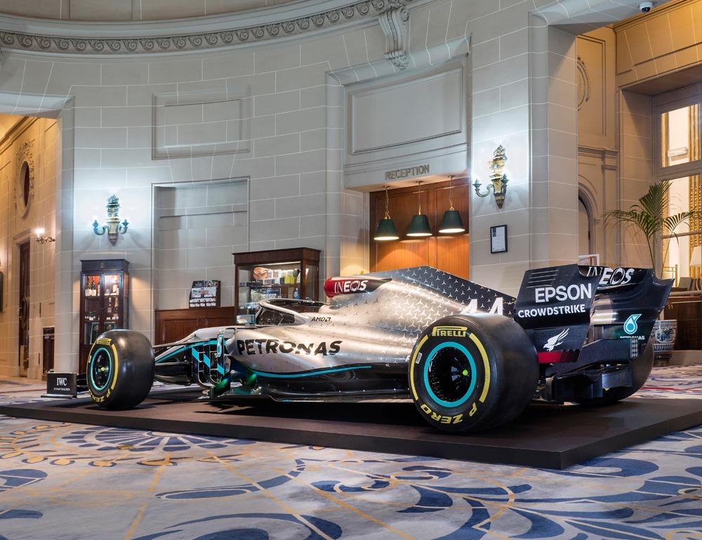 F1 | Mercedes presenta il nuovo partner INEOS e la livrea 2020 2