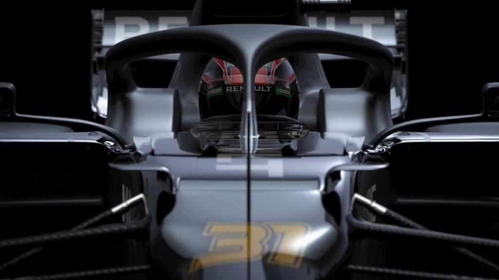 F1 | Renault mostra i render della R.S.20 in livrea test 1