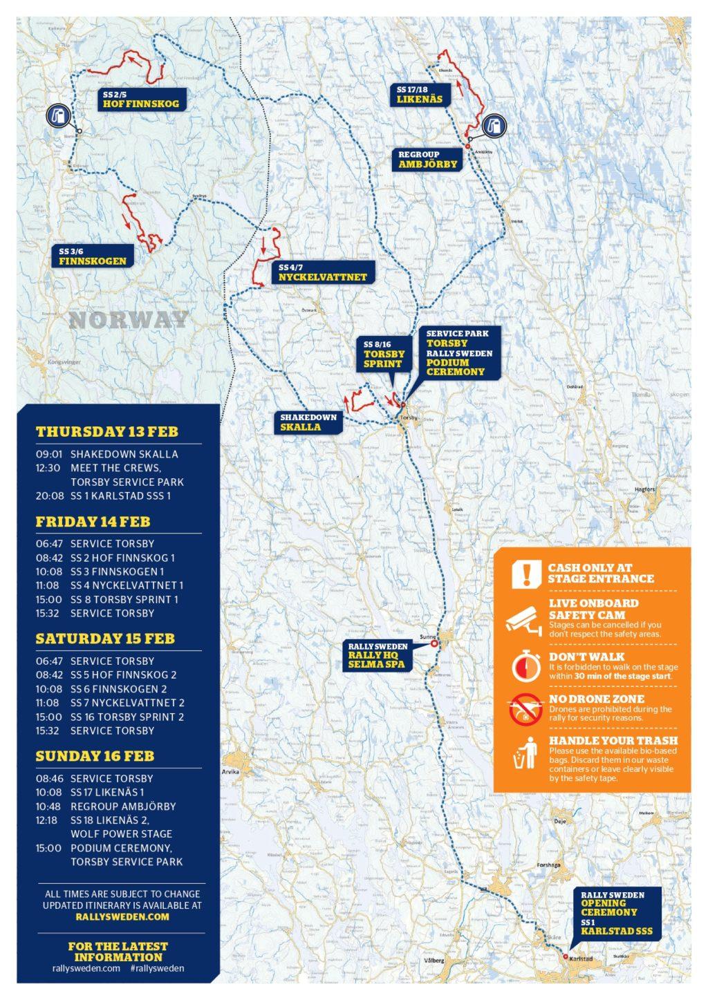 WRC | Rally di Svezia 2020 - Anteprima 1