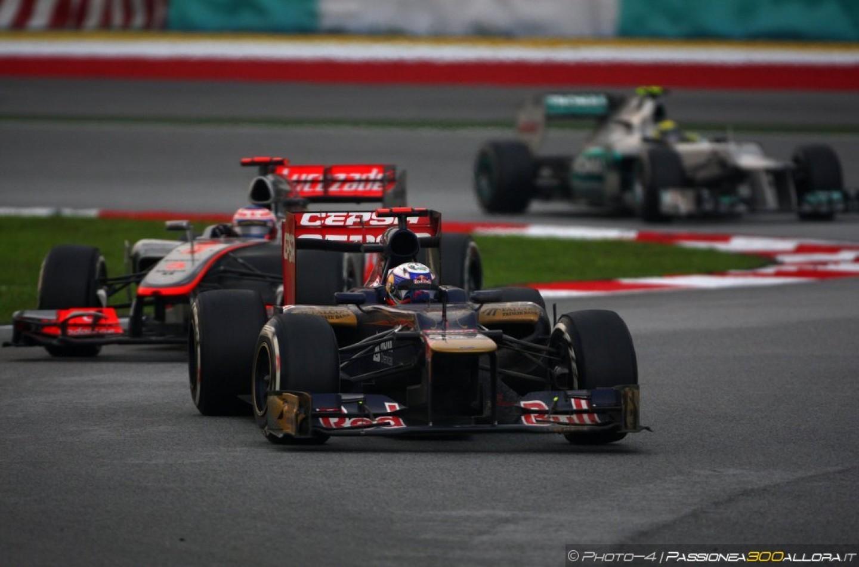 Button e Ricciardo correranno con i numeri 22 e 3
