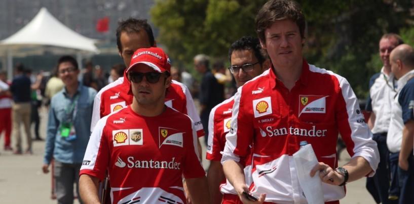 Massa non avrà Smedley come ingegnere di pista in Williams