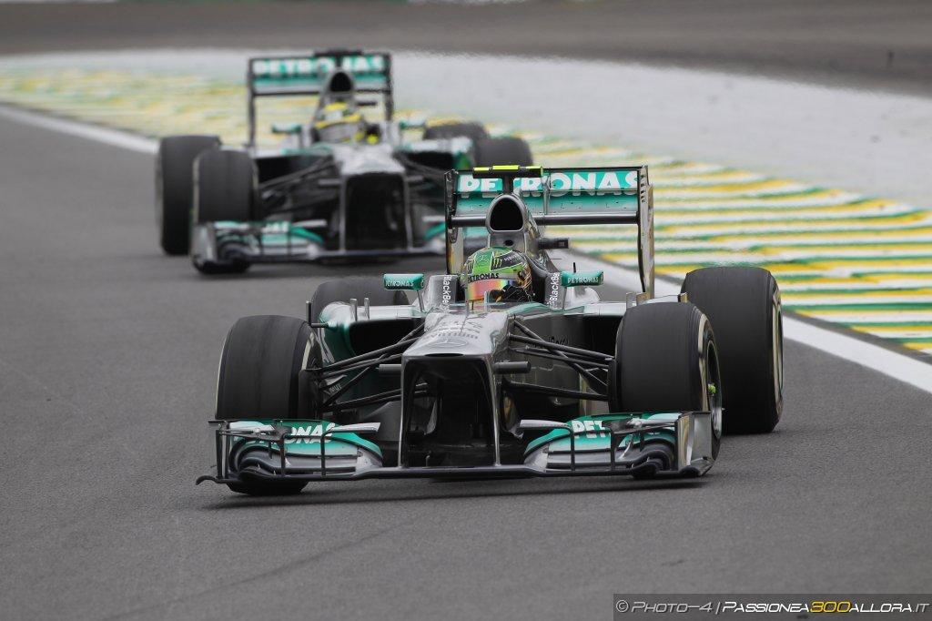 Mercedes svela il suono del motore della W05