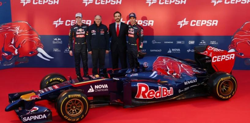 Presentata a Jerez la Toro Rosso STR9