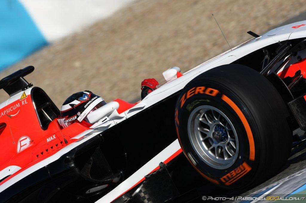 La Marussia ha deciso di mettere in pista una sola monoposto