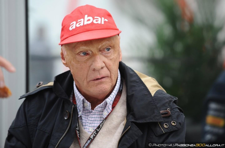 """Niki Lauda: """"Non si può cambiare il rumore dei motori turbo adesso"""""""