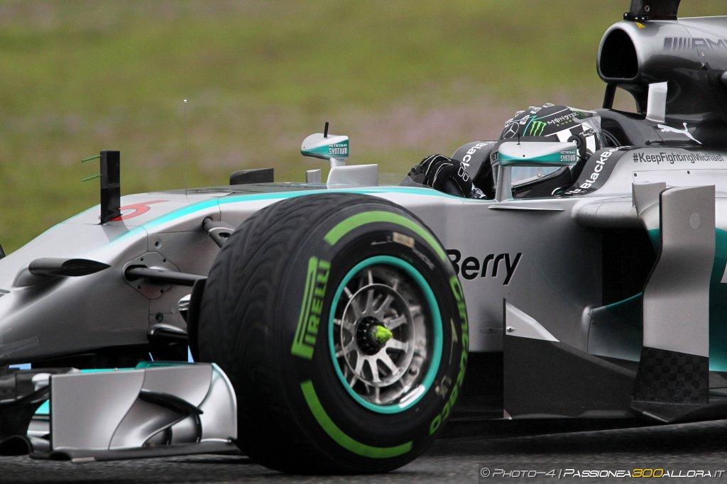 Qualifiche Gp del Belgio: Rosberg in pole davanti a Hamilton e Vettel