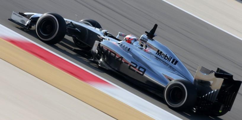 Kevin Magnussen al comando nel secondo giorno di test in Bahrain