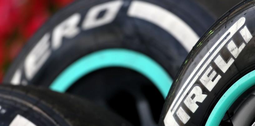 F1 | Pirelli pronta a fornire gomme dal degrado più marcato