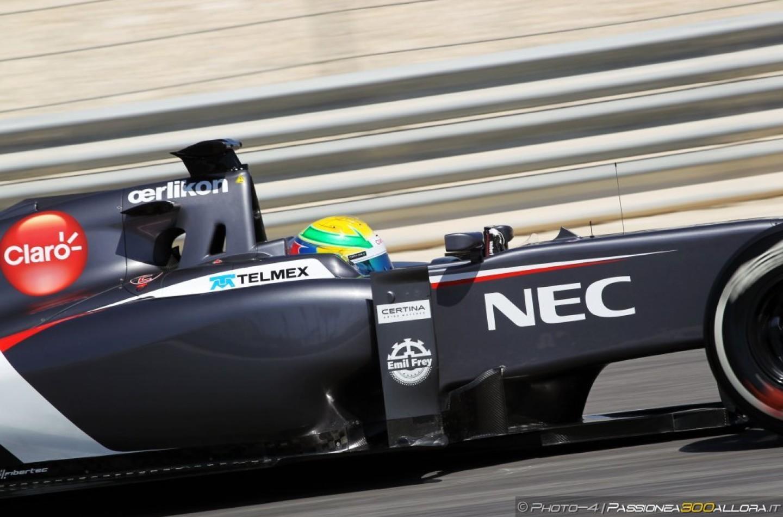 Sauber conferma l'ordine dei piloti nei test di Jerez