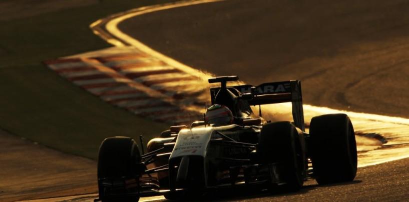 Perez al comando nel primo giorno di test in Bahrain