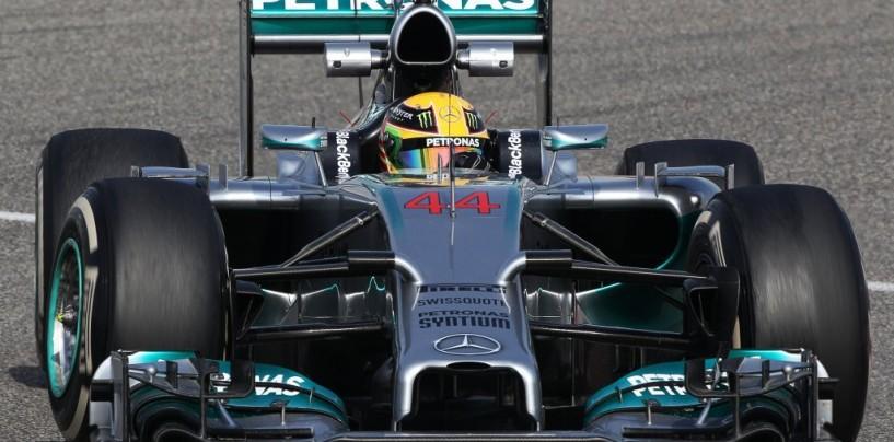 Gp del Bahrain, prove libere 2: le Mercedes si confermano in vetta