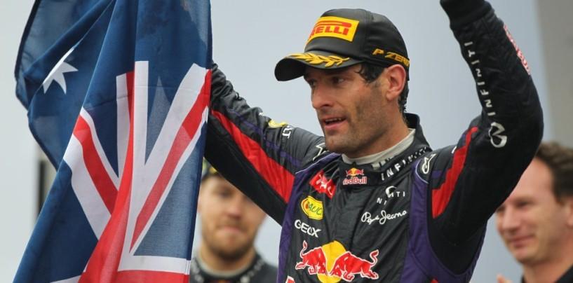 Webber appoggia la scelta di Vettel di cambiare team