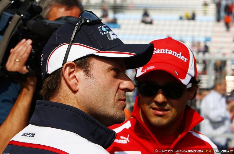 """Rubens Barrichello: """"In Williams, Felipe ha buone possibilità di lottare per il titolo mondiale"""""""