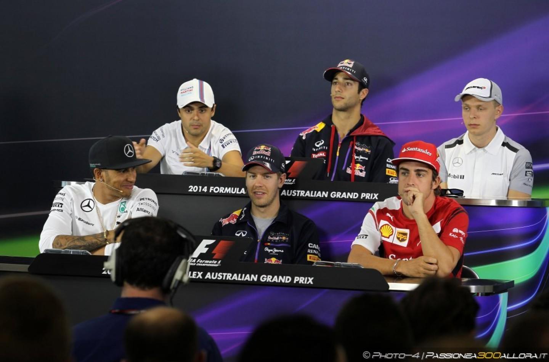 Gp d'Australia: conferenza stampa