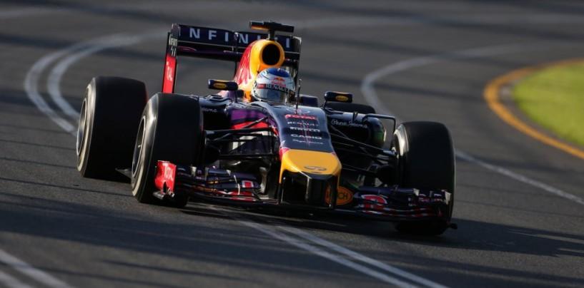 GP di Gran Bretagna, libere 3: con la pioggia svettano Vettel e Ricciardo