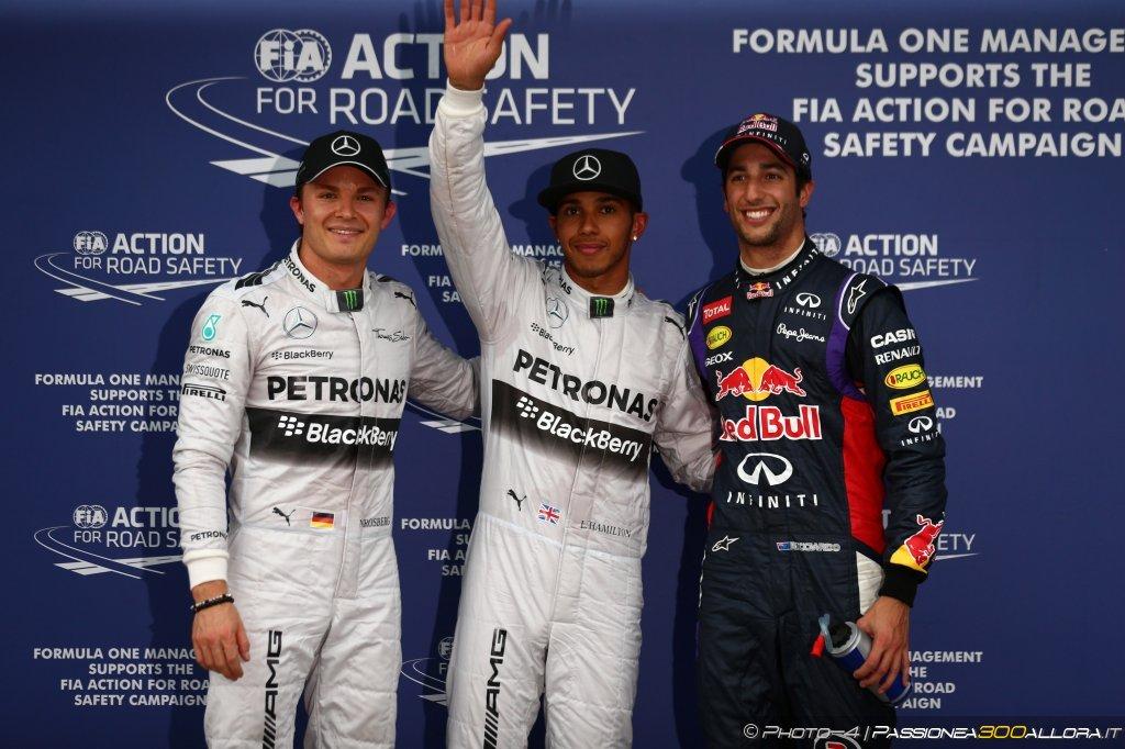 GP d'Australia, qualifiche: i commenti dei primi tre classificati