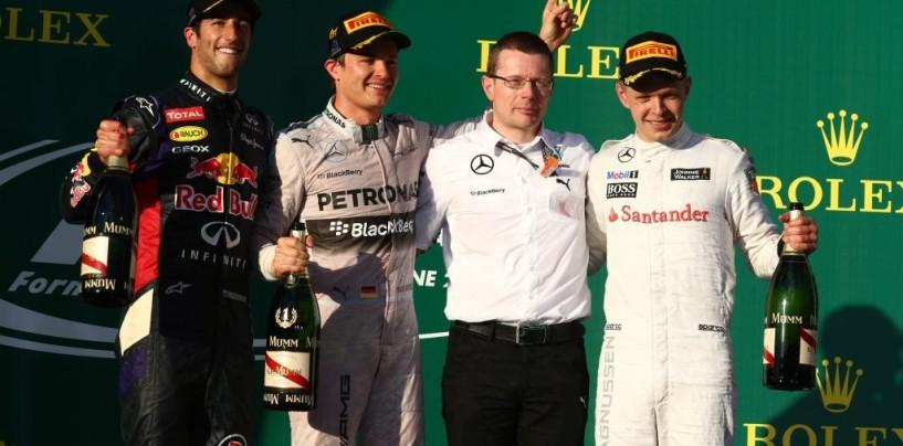 GP d'Australia, gara: i commenti dei primi tre classificati