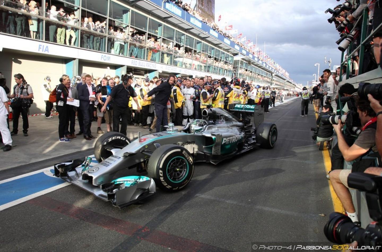 Gp d'Austria 2014:  vince Nico Rosberg su Hamilton e Bottas