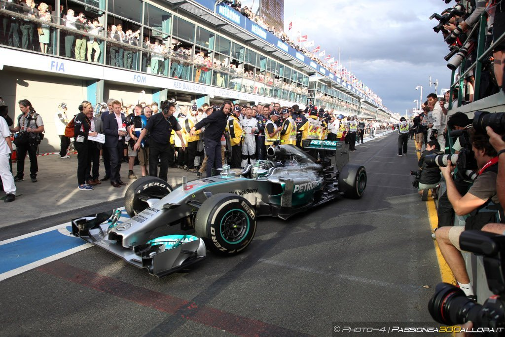 Pagelle del Gran Premio d'Australia 2014