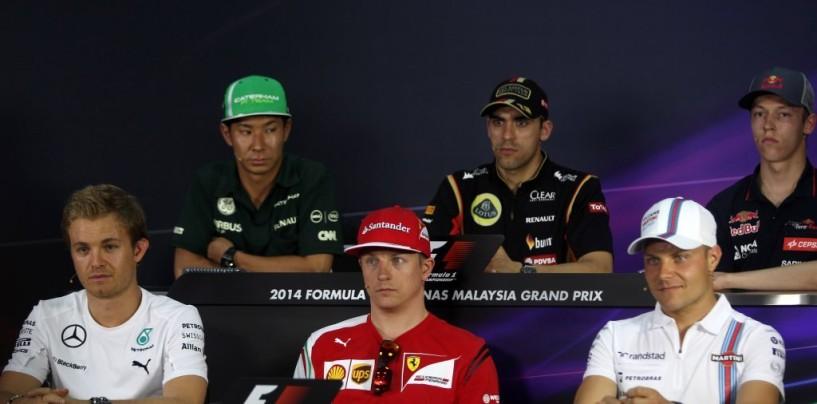 GP della Malesia: conferenza stampa