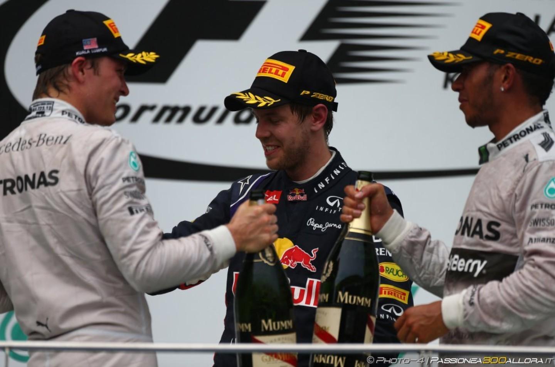 GP della Malesia, gara: le interviste ai primi tre classificati