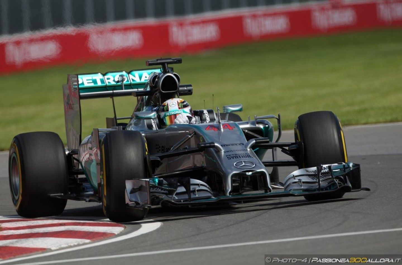 GP del Canada, prove libere 2: Hamilton al comando