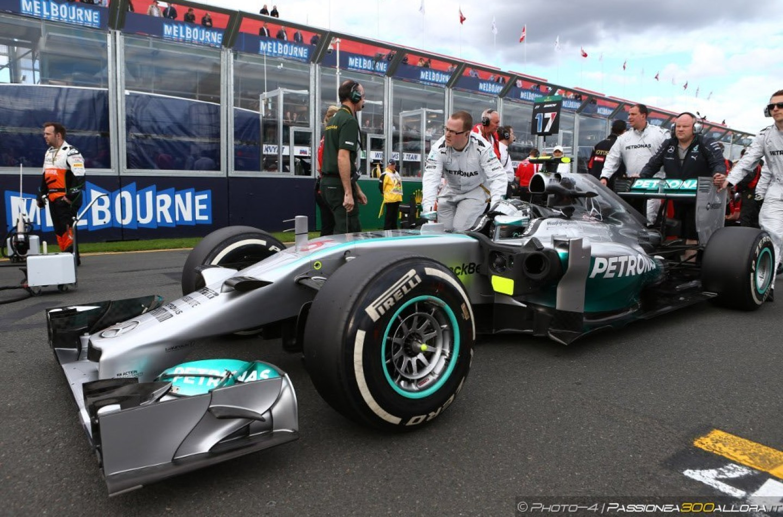 Nico Rosberg vince il Gp d'Australia 2014