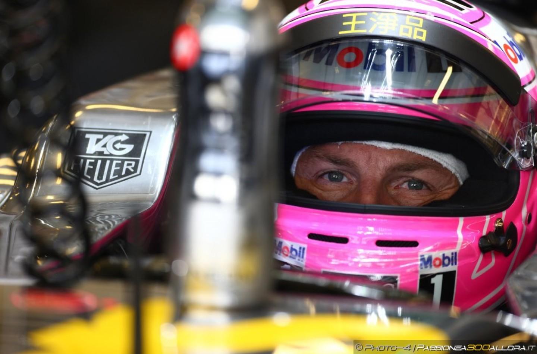 Jenson Button è felice di avere Fernando Alonso nel team
