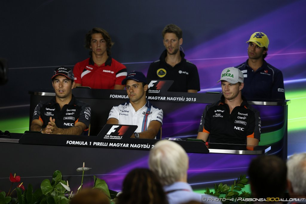 GP Ungheria, conferenza stampa: i piloti ricordano Jules Bianchi