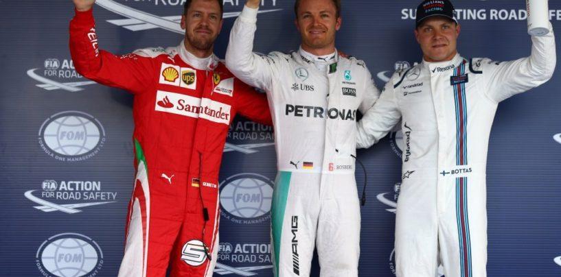 F1 | GP Russia, la griglia di partenza