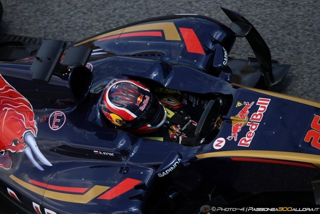 F1 | Toro Rosso, Kvyat: test cruciali a Barcellona