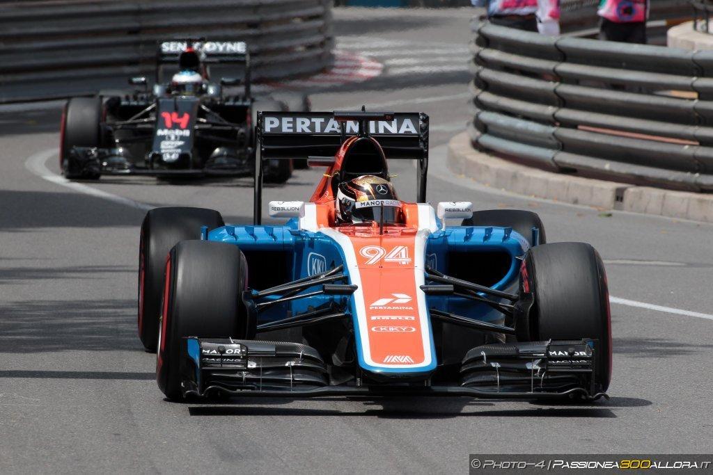 F1 | GP Monaco, libere: la parola alla Manor e alla Sauber