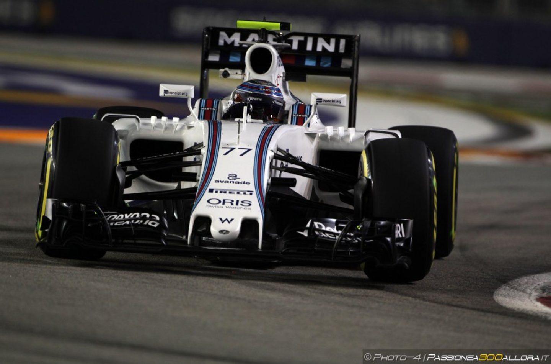 F1   GP Singapore, gara: la parola alla Williams