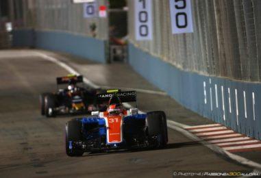 F1 | GP Singapore, gara: la parola alla Manor