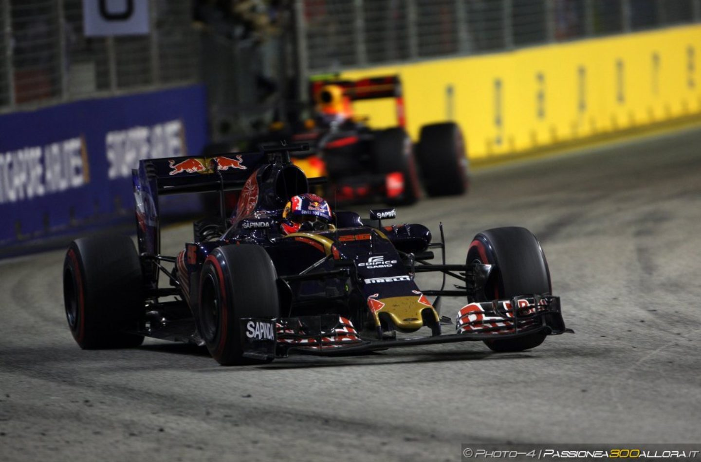 F1 | GP Singapore, gara: la parola alla Toro Rosso