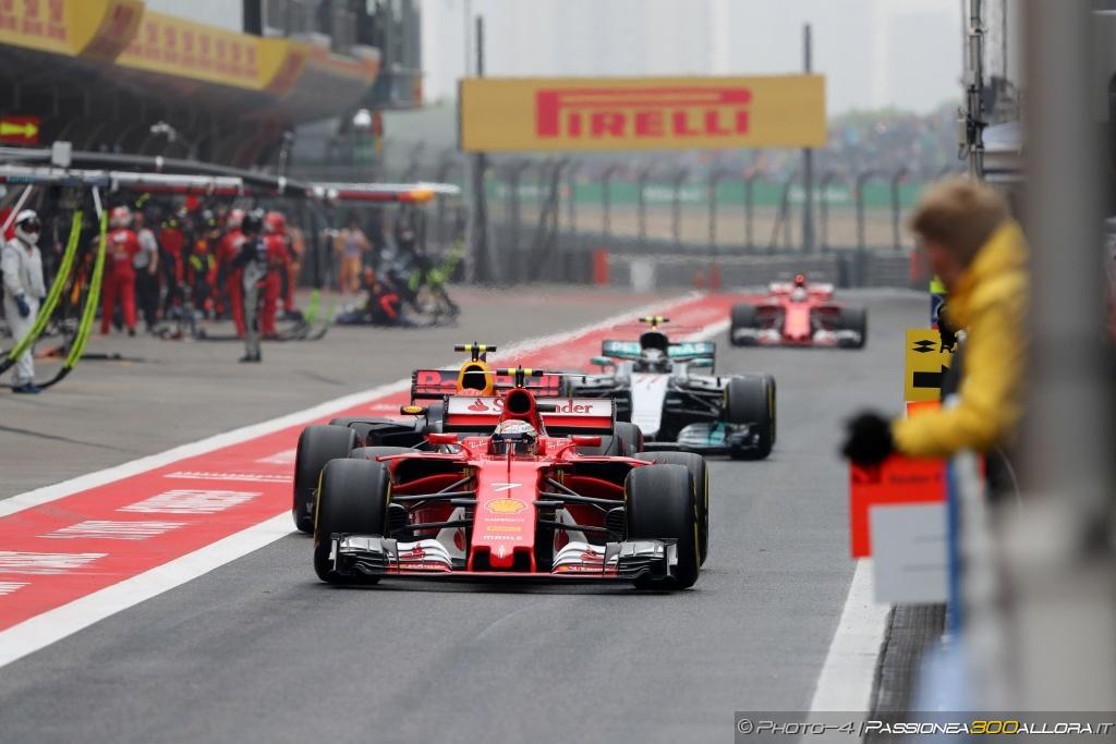 F1 | GP Cina, la gara dei primi 10