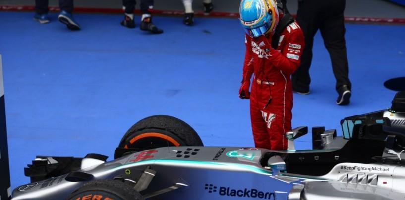"""Alonso irritato da una """"mancanza di supporto"""""""